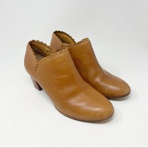 JACK ROGERS Womens MARIANNE SCALLOPED BOOTIES